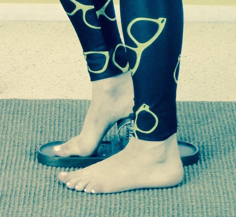 Heels on the Foot Corrector