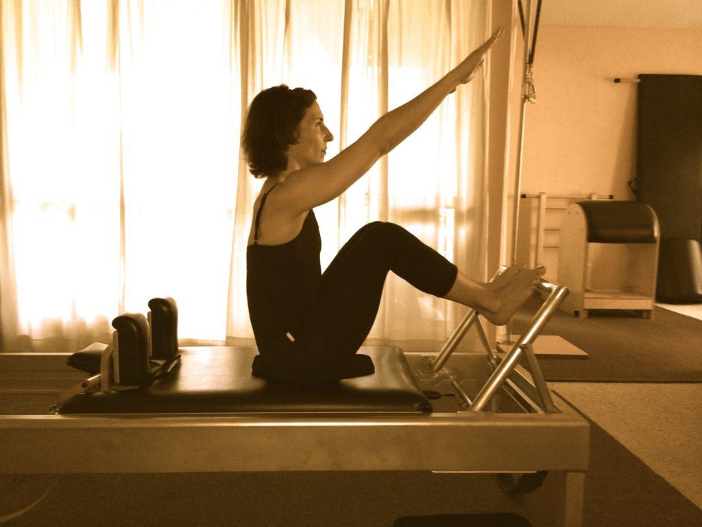 Stomach Massage Reach on the Reformer