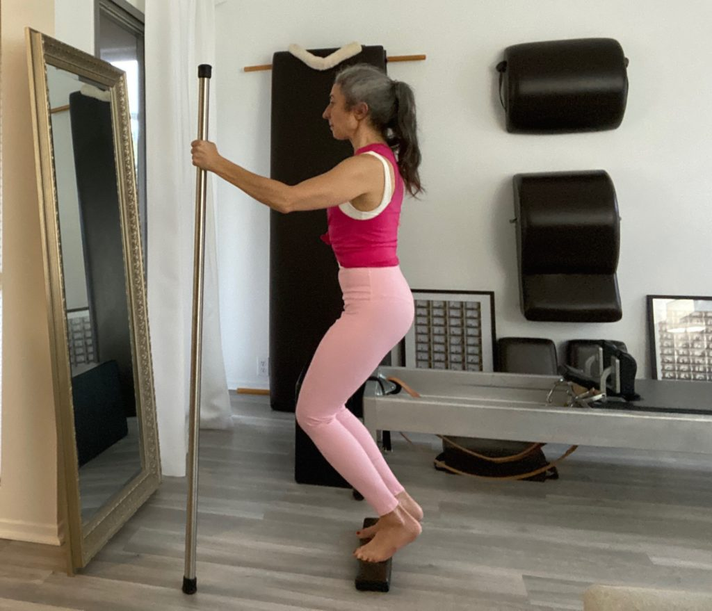 Foot Exercises on the Pilates 2x4