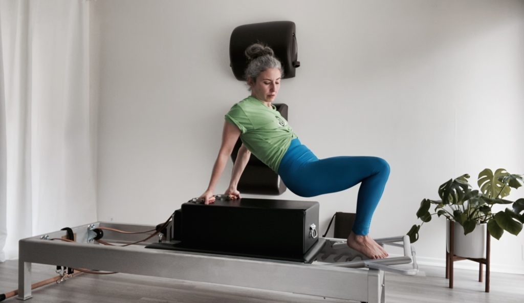 Into the Backstroke on the Reformer