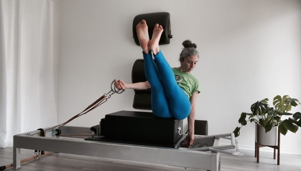 Backstroke into Teaser on the Reformer