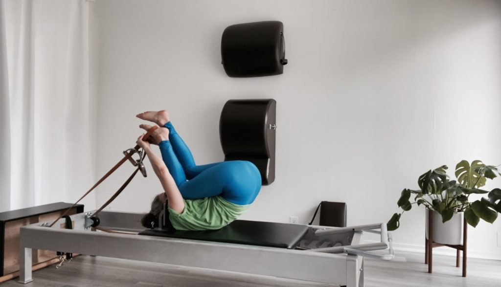 Into the Short Spine Massage on the Reformer